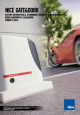 Katalog i cennik automatyki bramowej Nice 2016