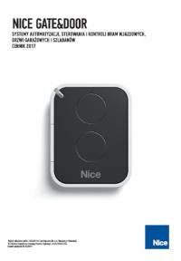 Nice Gate&Door - katalog / cennik 2017